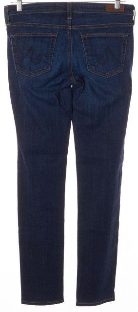 AG ADRIANO GOLDSCHMIED Blue The Stilt Cigarette Leg Skinny Jeans