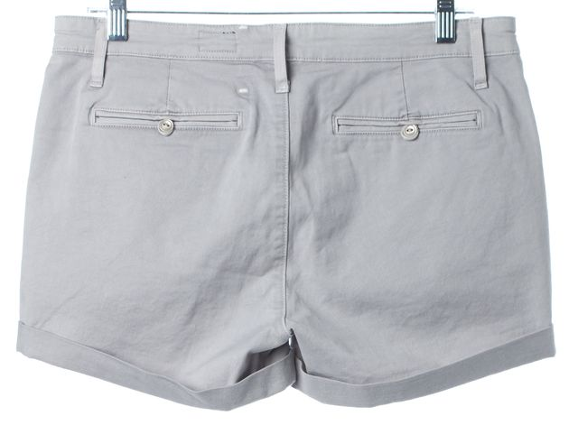AG ADRIANO GOLDSCHMIED Medium Gray The Tristan Tailored Shorts