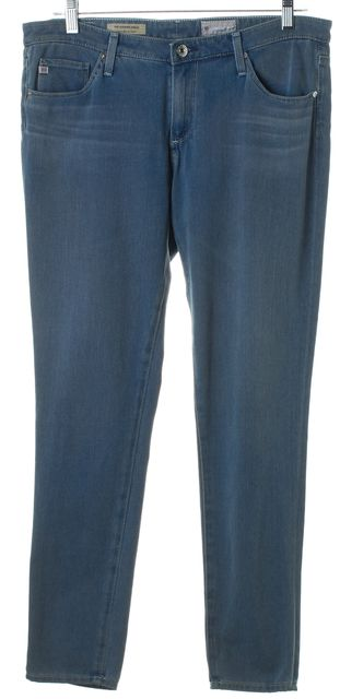 AG ADRIANO GOLDSCHMIED Blue Legging Ankle Skinny Jeans
