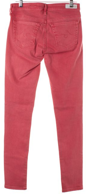 AG ADRIANO GOLDSCHMIED Bubblegum Pink The Legging Ankle Skinny Jeans