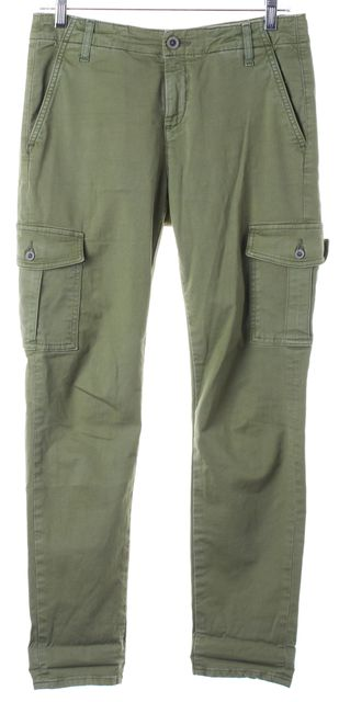 AG ADRIANO GOLDSCHMIED Olive Green The Pepper Cargo Pants