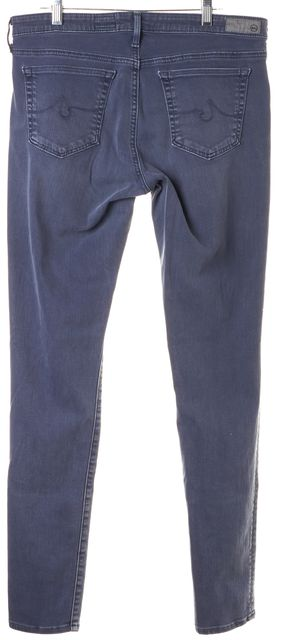 AG ADRIANO GOLDSCHMIED Gray Legging Super Skinny Jeans