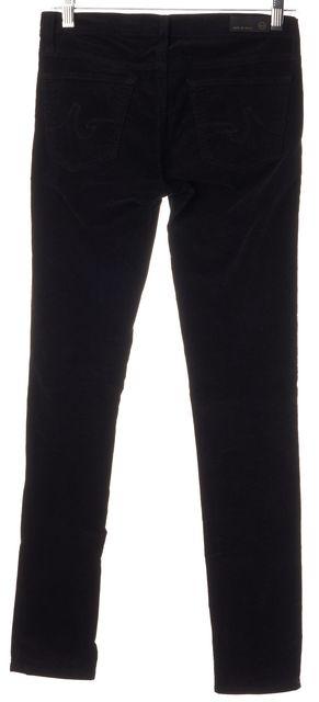 AG ADRIANO GOLDSCHMIED Black Legging Super Skinny Corduroy Pants