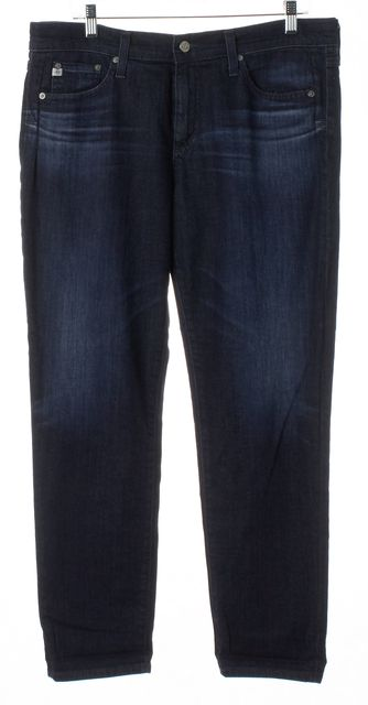 AG ADRIANO GOLDSCHMIED Blue The Beau Slouchy Skinny Jeans