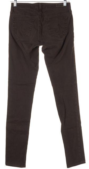 AG ADRIANO GOLDSCHMIED Dark Brown Legging Super Skinny Jeans