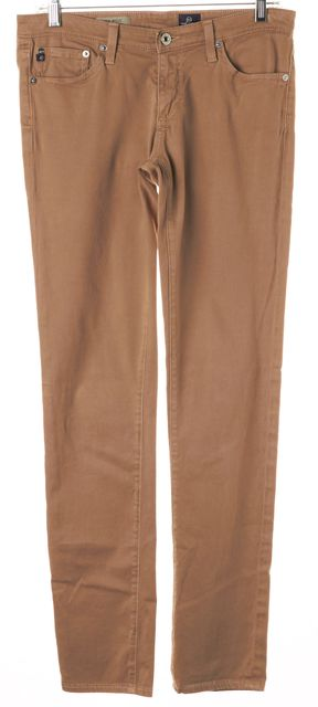 AG ADRIANO GOLDSCHMIED Beige The Stilt Cigarette Skinny Jeans