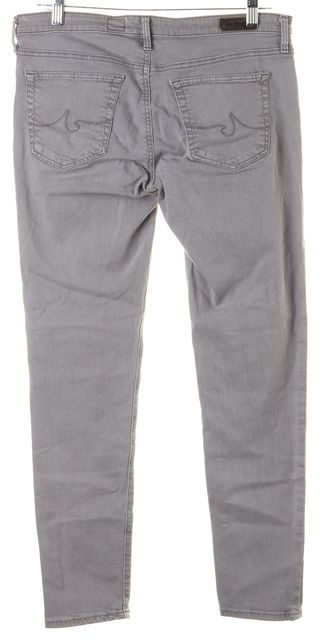 AG ADRIANO GOLDSCHMIED Gray Legging Ankle Super Skinny Jeans