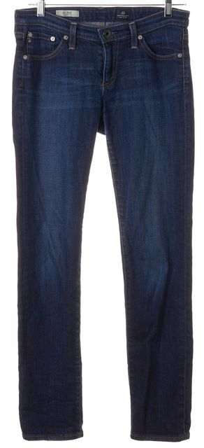 AG ADRIANO GOLDSCHMIED Blue Stilt Cigarette Skinny Jeans