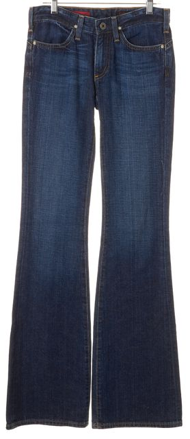 AG ADRIANO GOLDSCHMIED Blue Medium Wash The Legend Flare Leg Jeans