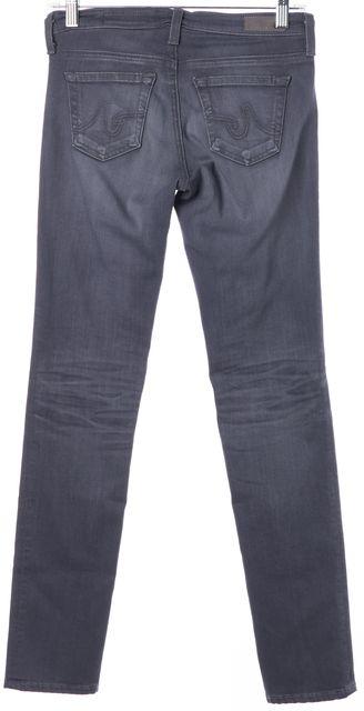 AG ADRIANO GOLDSCHMIED Gray Stilt Cigarette Skinny Jeans