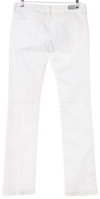 AG ADRIANO GOLDSCHMIED White Ballad Slim Bootcut Jeans
