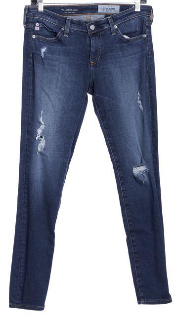 AG ADRIANO GOLDSCHMIED Medium Wash Super Skinny Ankle Leggings Jeans