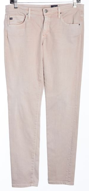 AG ADRIANO GOLDSCHMIED Pink Straight Leg Jeans