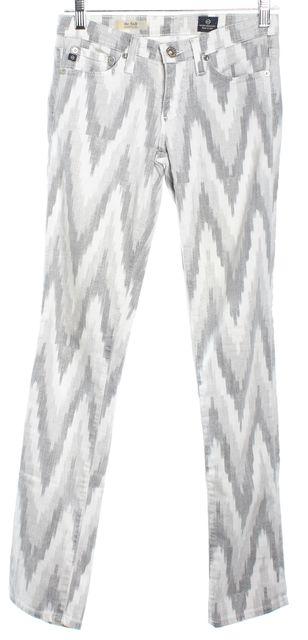 AG ADRIANO GOLDSCHMIED Gray Skinny Jeans