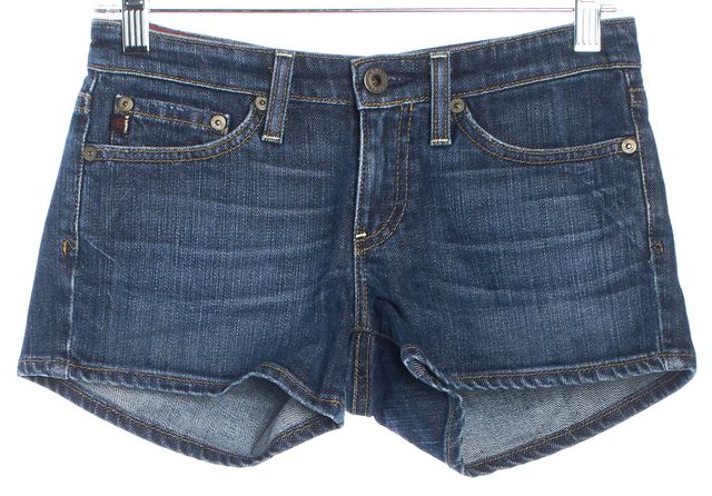 AG ADRIANO GOLDSCHMIED Blue Denim Shorts