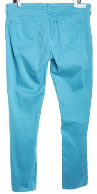 AG ADRIANO GOLDSCHMIED Blue The Stilt Cigarette Leg Classic Rise Jeans