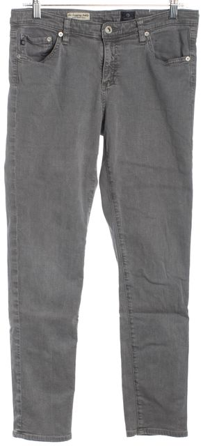 AG ADRIANO GOLDSCHMIED Gray The Legging Ankle Skinny Jeans