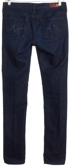 AG ADRIANO GOLDSCHMIED Blue The Stilt Slim Fit Classic Rise Jeans