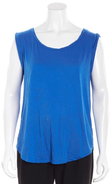 AG ADRIANO GOLDSCHMIED Blue Casual Tank Top