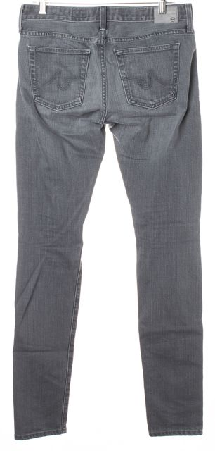 AG ADRIANO GOLDSCHMIED Gray The Nikki Relaxed Skinny Jeans