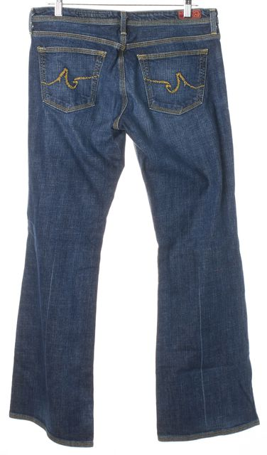 AG ADRIANO GOLDSCHMIED Blue The Merlot Wide Leg Jeans