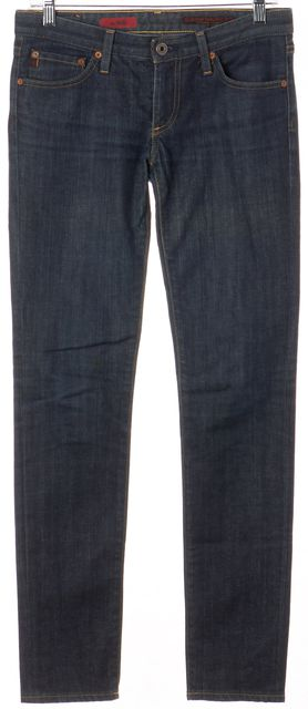 AG ADRIANO GOLDSCHMIED Blue The Stilt Skinny Jeans