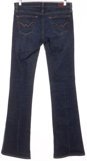 AG ADRIANO GOLDSCHMIED Blue The Angel Boot Cut Jeans