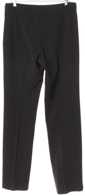 AKRIS Dark Gray Wool Trouser Dress Pants