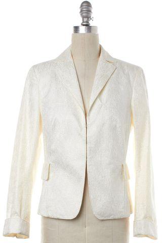 AKRIS PUNTO White Blazer Jacket
