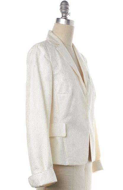 AKRIS PUNTO White Blazer Jacket