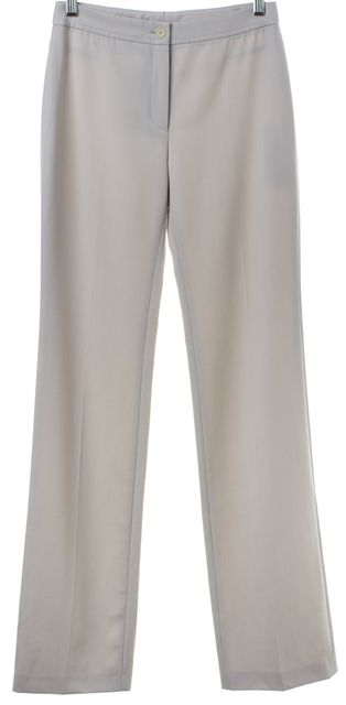 AKRIS PUNTO Gray Wool Casual Pants