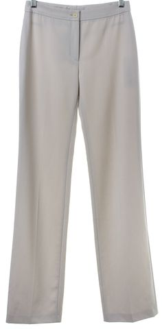 AKRIS PUNTO Gray Wool Casual Pants