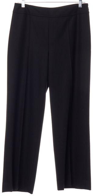 AKRIS PUNTO Brown Wool Straight Leg Trousers