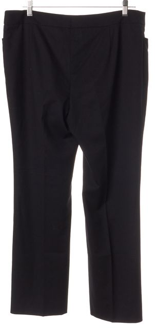 AKRIS PUNTO Black Wool Casual Pants