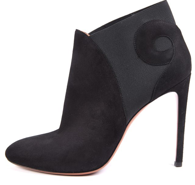 Pre-owned - Black Suede Heels Fendi 6r7UOv