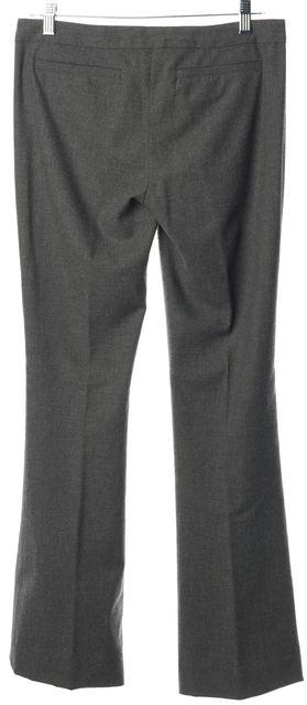 A.L.C. Gray Wool Casual Slim Fit Boot Cut Career Dress Pants