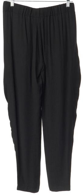 A.L.C. Black Drawstring Waist Light Weight Casual Pants