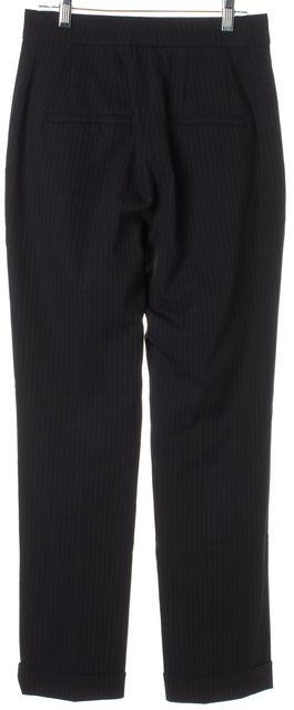 A.L.C. Black Pinstriped Benji Trouser Dress Pants