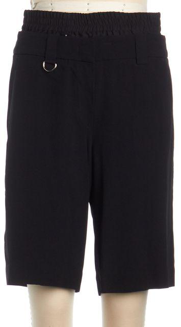A.L.C. Dark navy Blue Silk Bermuda Shorts