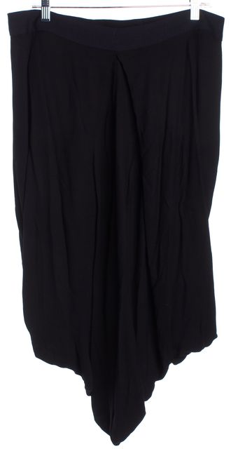 A.L.C. Solid Black Wool Full Bubble Skirt