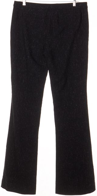 A.L.C. Black Speckle Flare Wool Trouser
