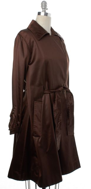 ALBERTA FERRETTI Brown Basic Jacket