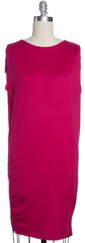 ALEXANDER MCQUEEN Pink Sweater Dress