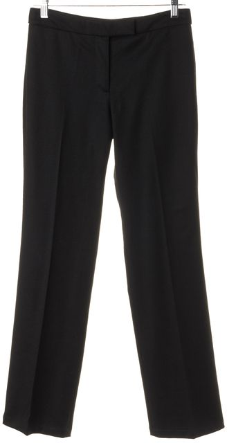 ALEXANDER MCQUEEN Black Trouser Dress Pants