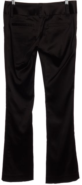 ALICE + OLIVIA Black Flare Pants
