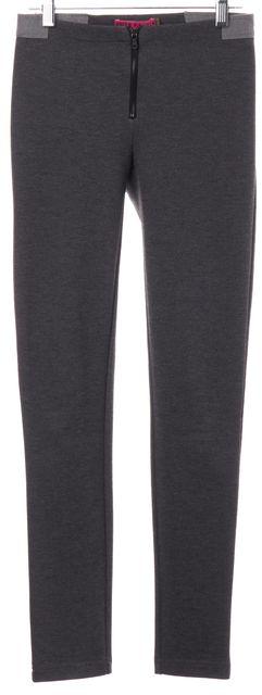 ALICE + OLIVIA Dark Gray Stretch Leggings