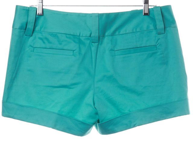 ALICE + OLIVIA Turquoise Blue Dress Shorts