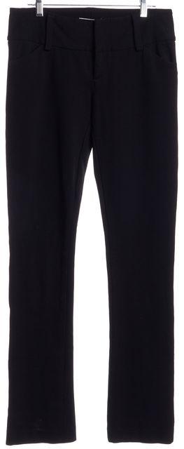 ALICE + OLIVIA Black Casual Pants
