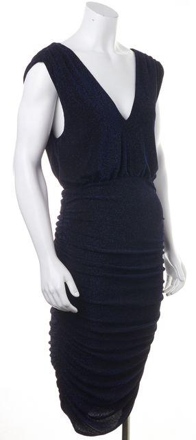 ALICE + OLIVIA Blue Bodycon Dress