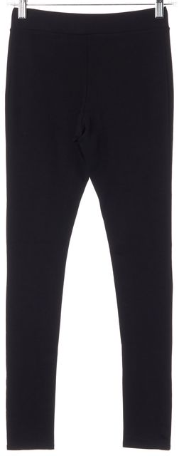 ALICE + OLIVIA Black Button Snap Ankle Legging Pants